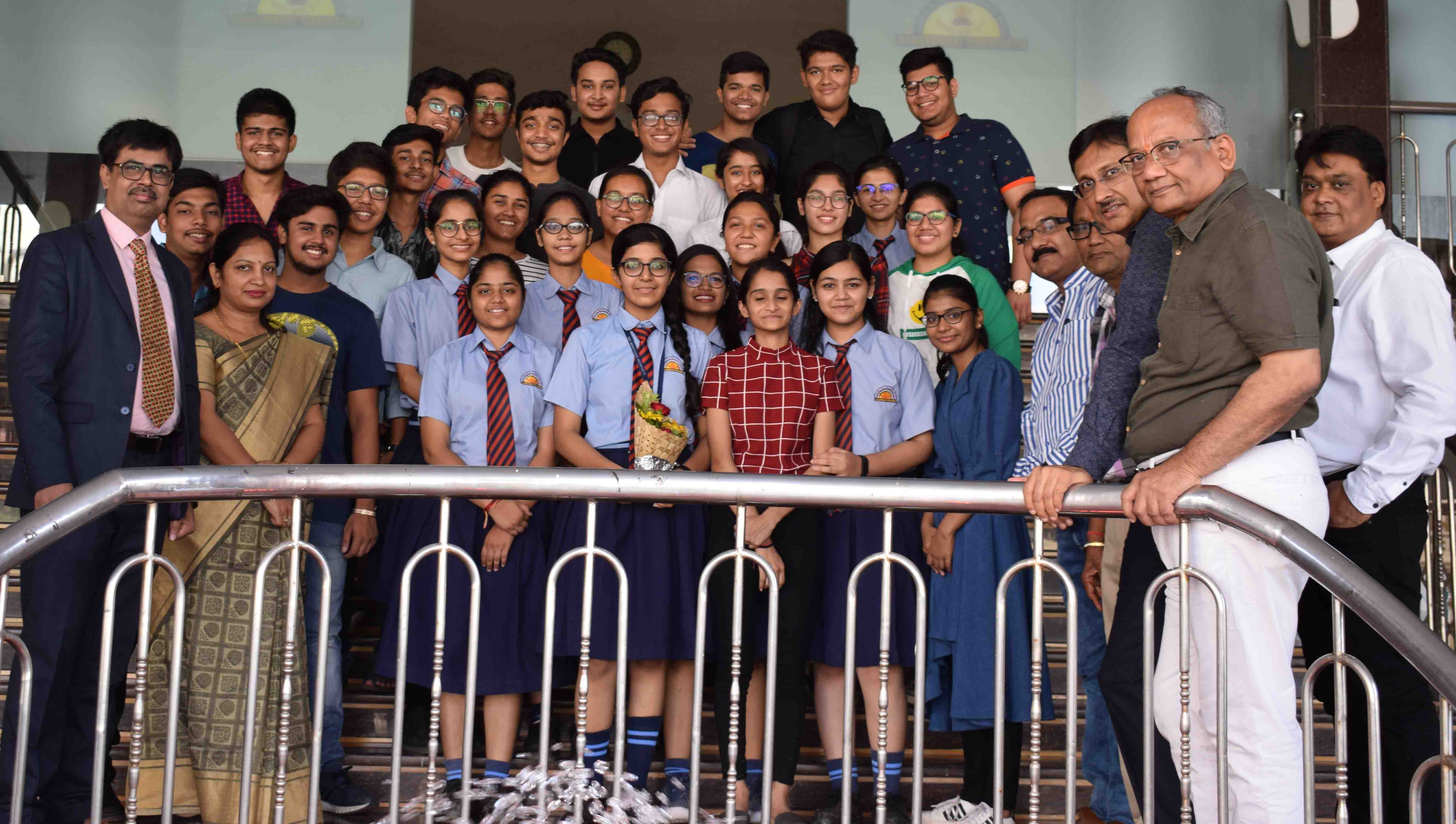 Class XII Result Celebration